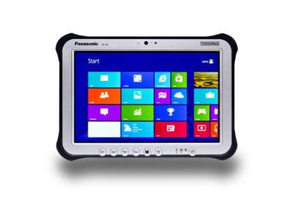 panasonic toughpad gps precision