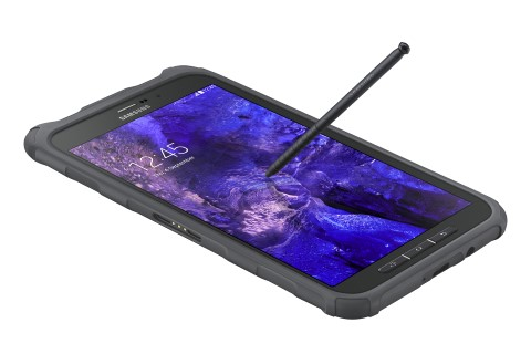 galaxy tab active gps precision