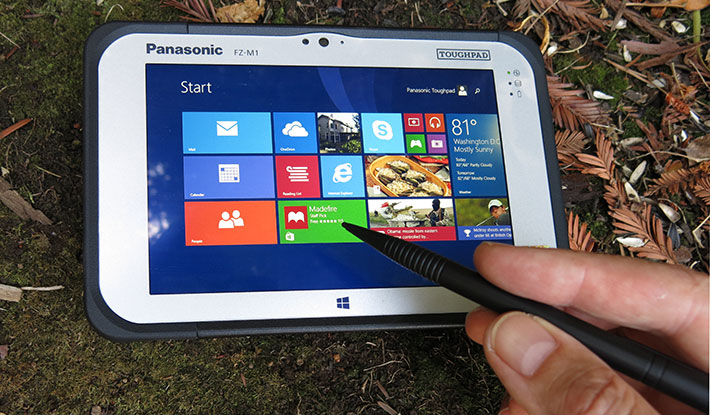 TOUGHPAD panasonic gps precision