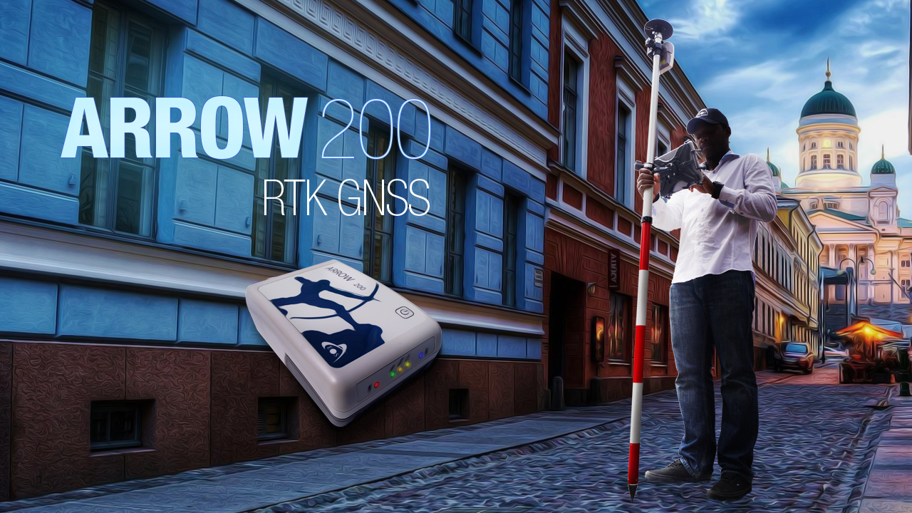 Arrow 200 RTK GPS Precision