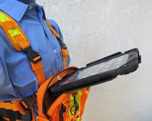 chest pack cortes ipad gps precision