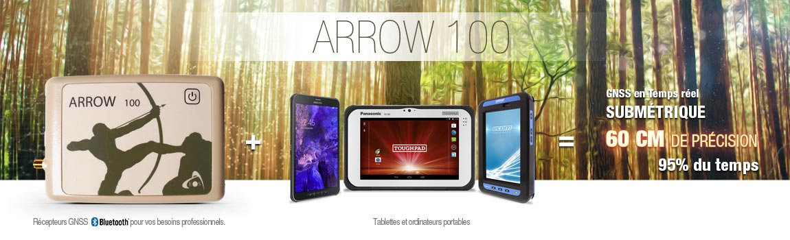 arrow 100 eos gps precision