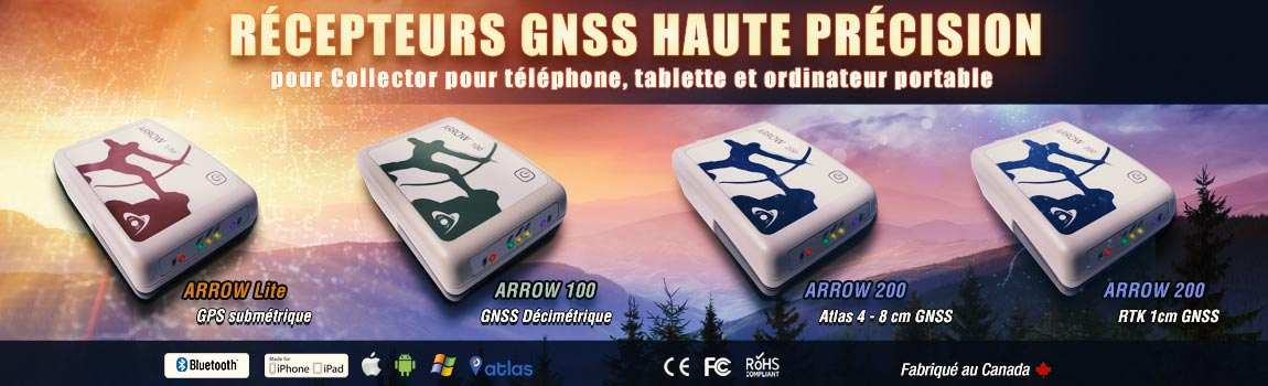 arrow series gps precision